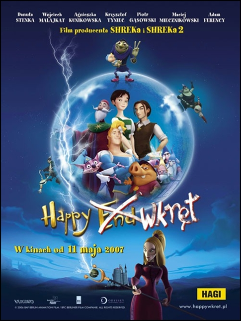 Happy wkręt / Happily N'Ever After (2006)  HQDVDRip.H264.DTS.480p.MDA / DUBBING + DVDRip.AC-3.480p