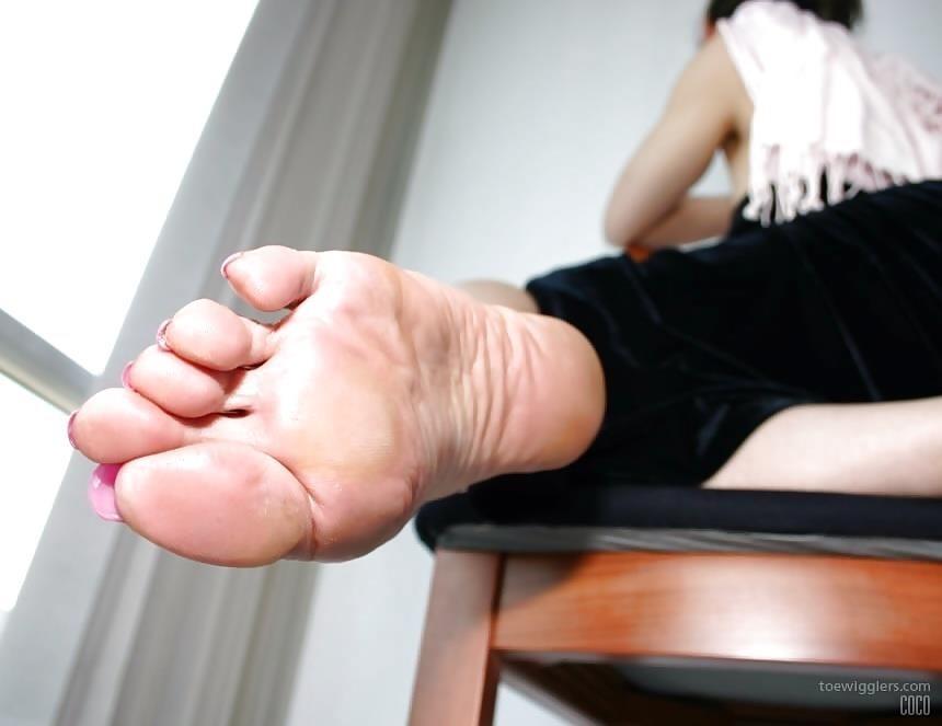 Asian feet footjob-3359