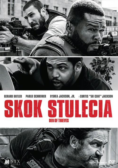 Skok stulecia / Den of Thieves (2018) PL.THEATRiCAL.BDRip.XviD-KiT / Lektor PL