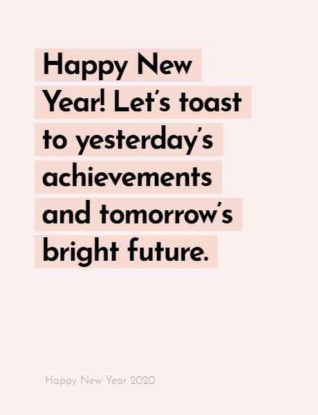 Happy New Year 2020 Wishes Quotes, Happy new year inspiration night 2020, wishes, messages & greetings 6