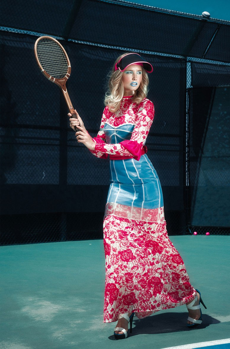 Sydney Van Til by Khoa Bui - Tennis Barbie 3000