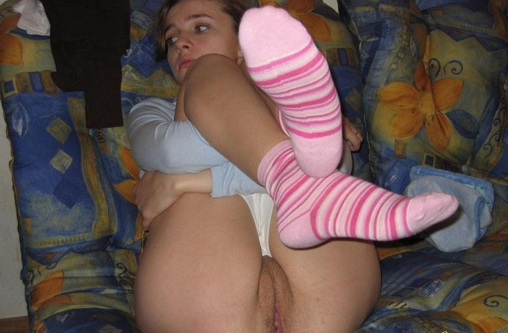 Nude girls in socks-9552