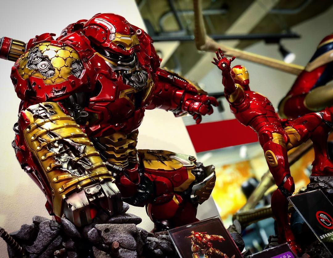 Avengers : Age of Ultron - HulkBuster Premium Collective 1/4 Statue (Hot Toys) WMWj0ysZ_o