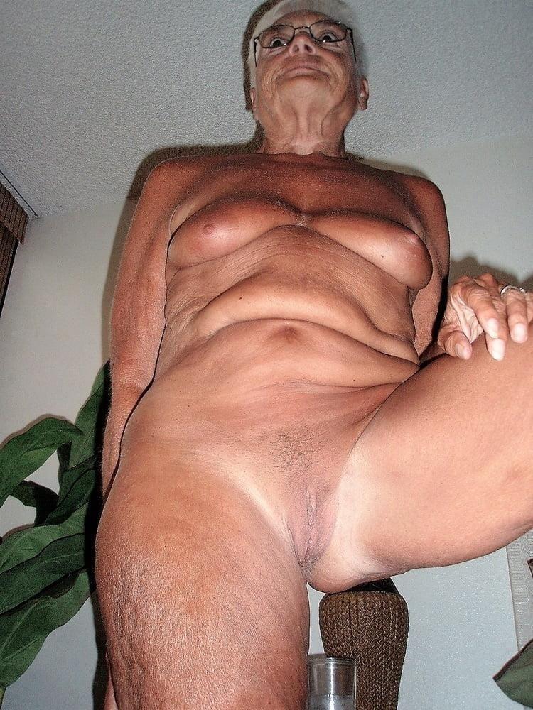 Chubby granny naked-7227