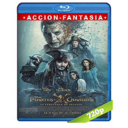 Piratas Del Caribe 5 La Venganza De Salazar (2017) BRRip 720p Audio Trial Latino-Castellano-Ingles 5.1