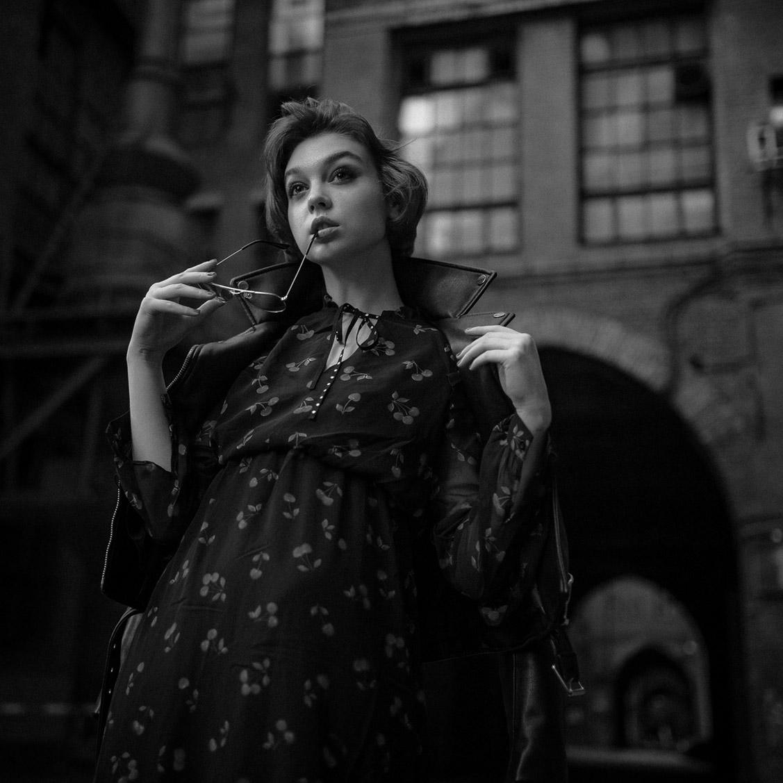 Оля Пушкина, фотограф Георгий Чернядьев / Ola Pushkina by Georgy Chernyadyev