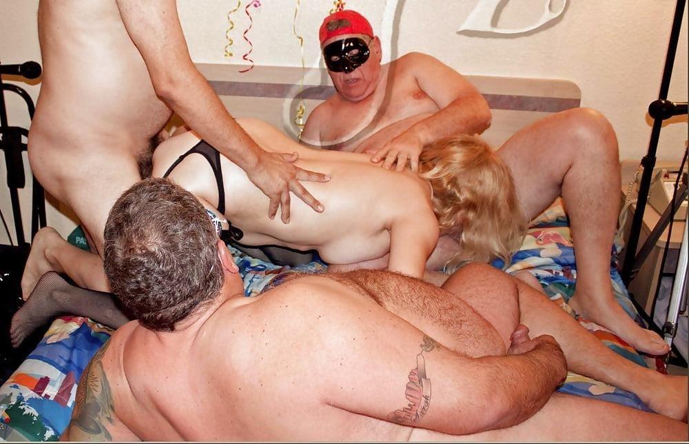 Chubby granny swingers-1331