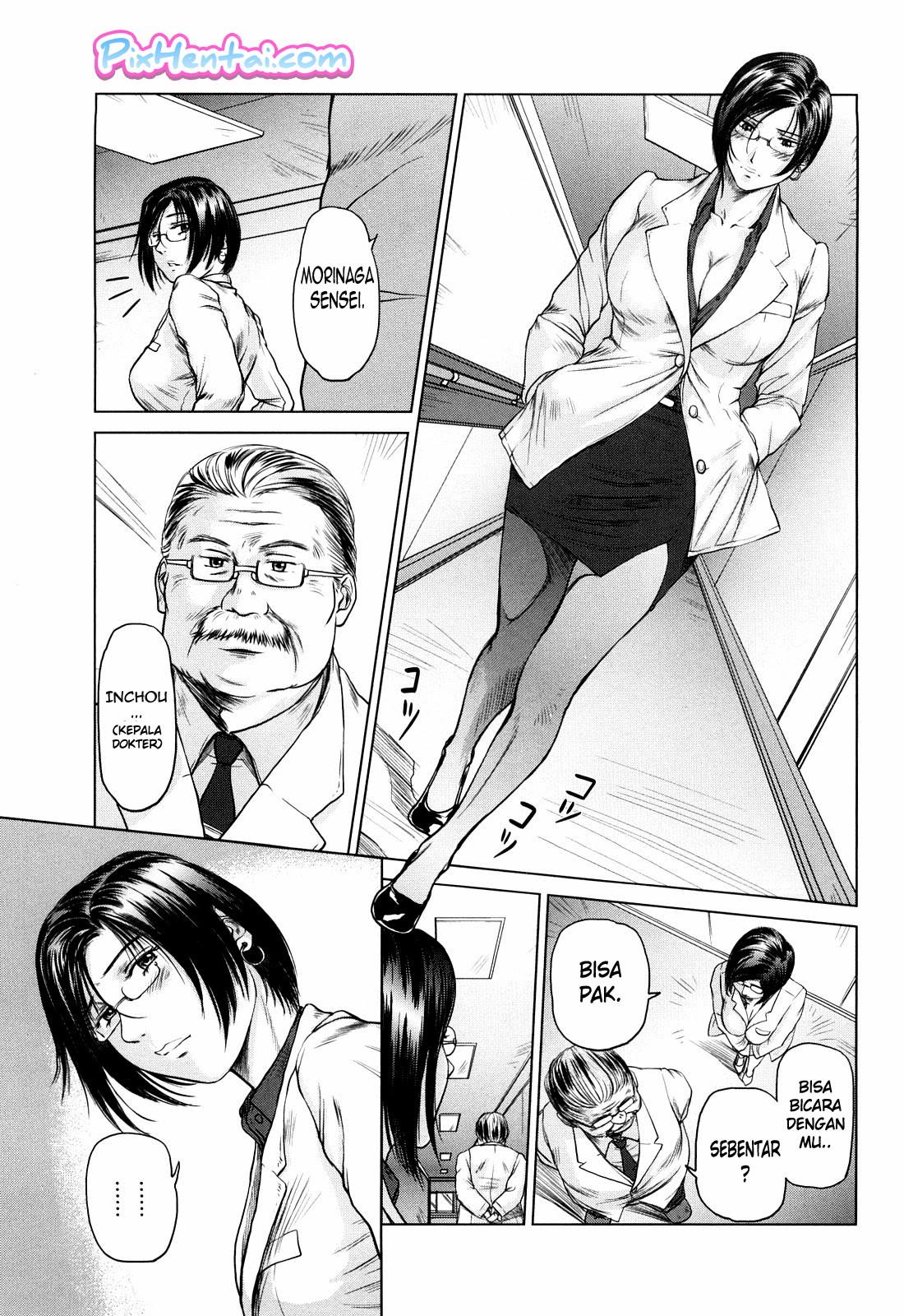 Komik Hentai Suster Montok tak Berdaya Dientot Pasien Manga Sex Porn Doujin XXX Bokep 13