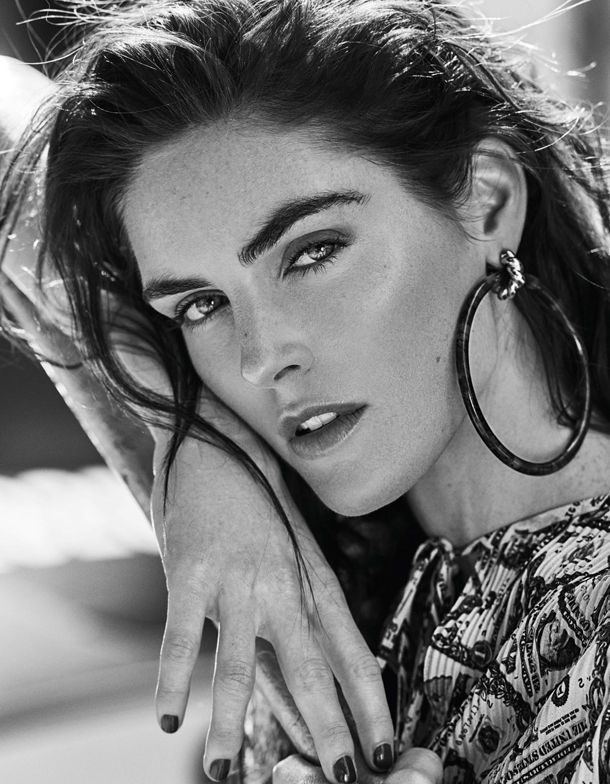Modern Bohemian / Hilary Rhoda by Caleb and Gladys / Vogue Taiwan may 2018