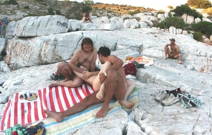 Amateur public threesome-1702
