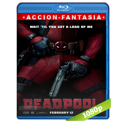 Deadpool 1080p Lat-Cast-Ing 5.1 (2016)