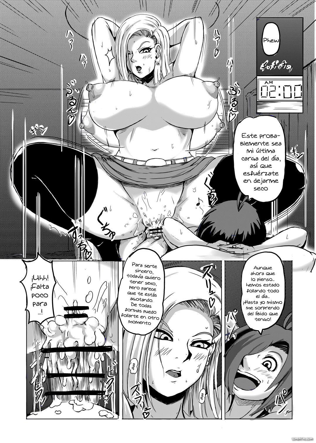 18-gou o Shuuchishin Zero ni Shite Yarimakurimashita (Dragon Ball Z)