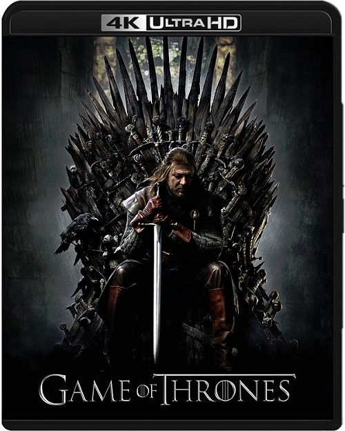 Gra o tron / Game of Thrones (2011) Sezon 1 MULTi.REMUX.2160p.UHD.Blu-ray.HDR.HEVC.ATMOS7.1-DENDA / Lektor Polski