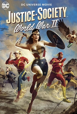 Adalet Topluluğu İkinci Dünya Savaşı - Justice Society World War II (2021) HDRip XviD TR