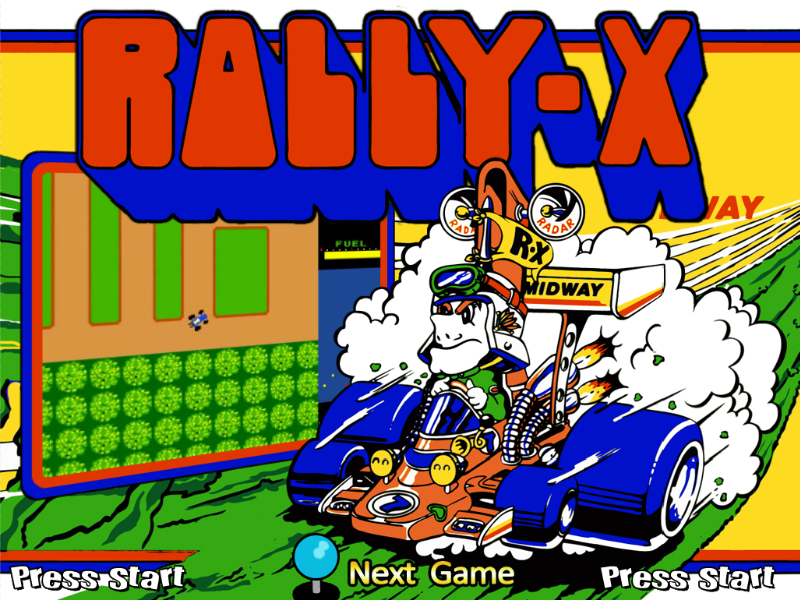 Rally X Retro PC Oyunu Oyna