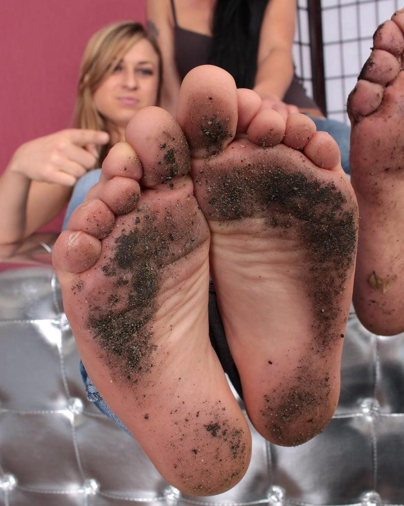Mistress dirty feet worship-4474