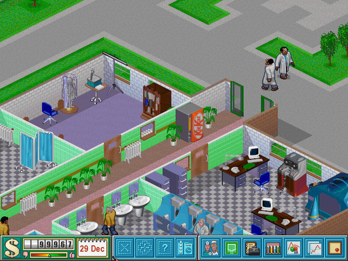 Theme Hospital Captura 2