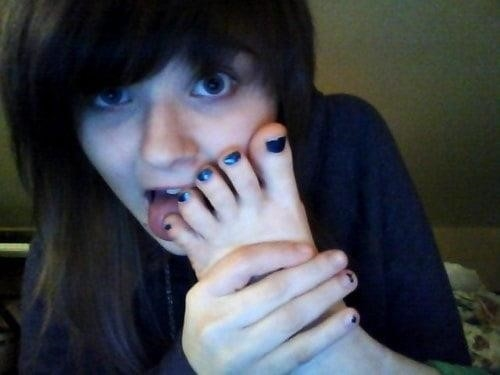 Mistress tiffany foot worship-5478