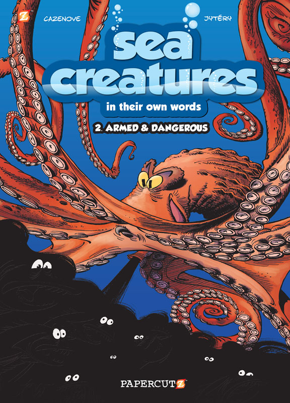 Sea Creatures 01-02 (Papercutz 2017)