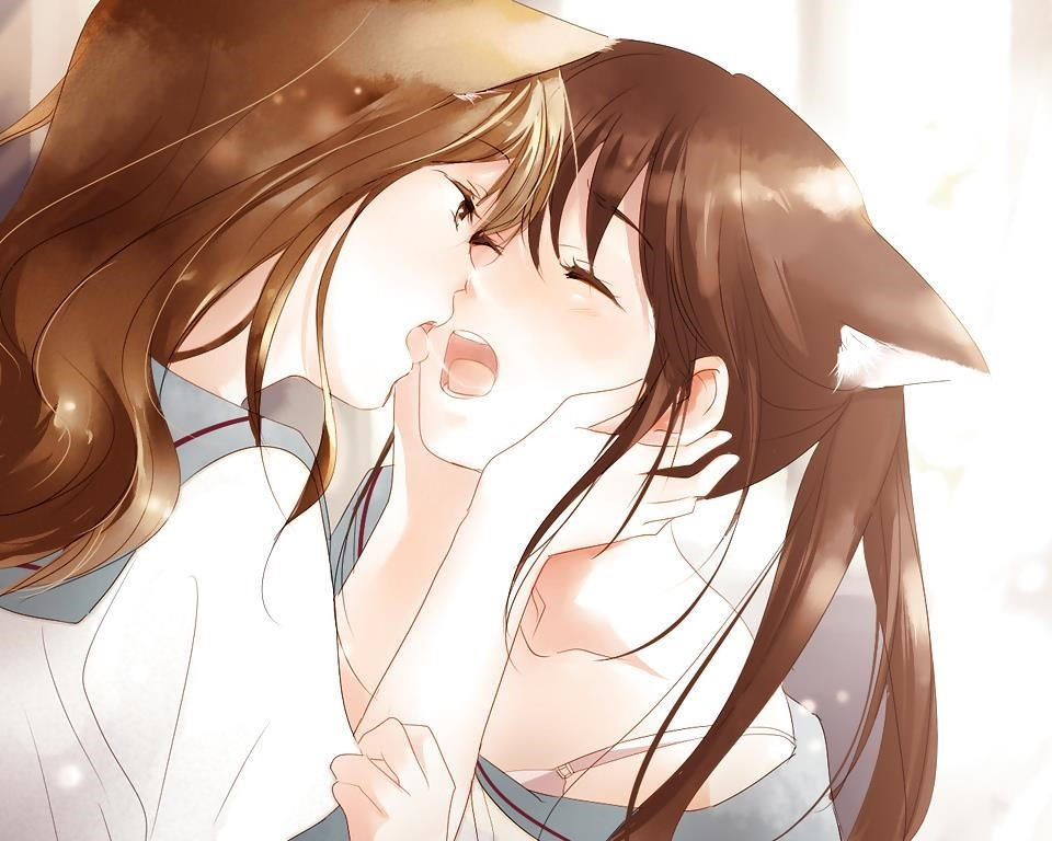 Lesbian anime pics-5805