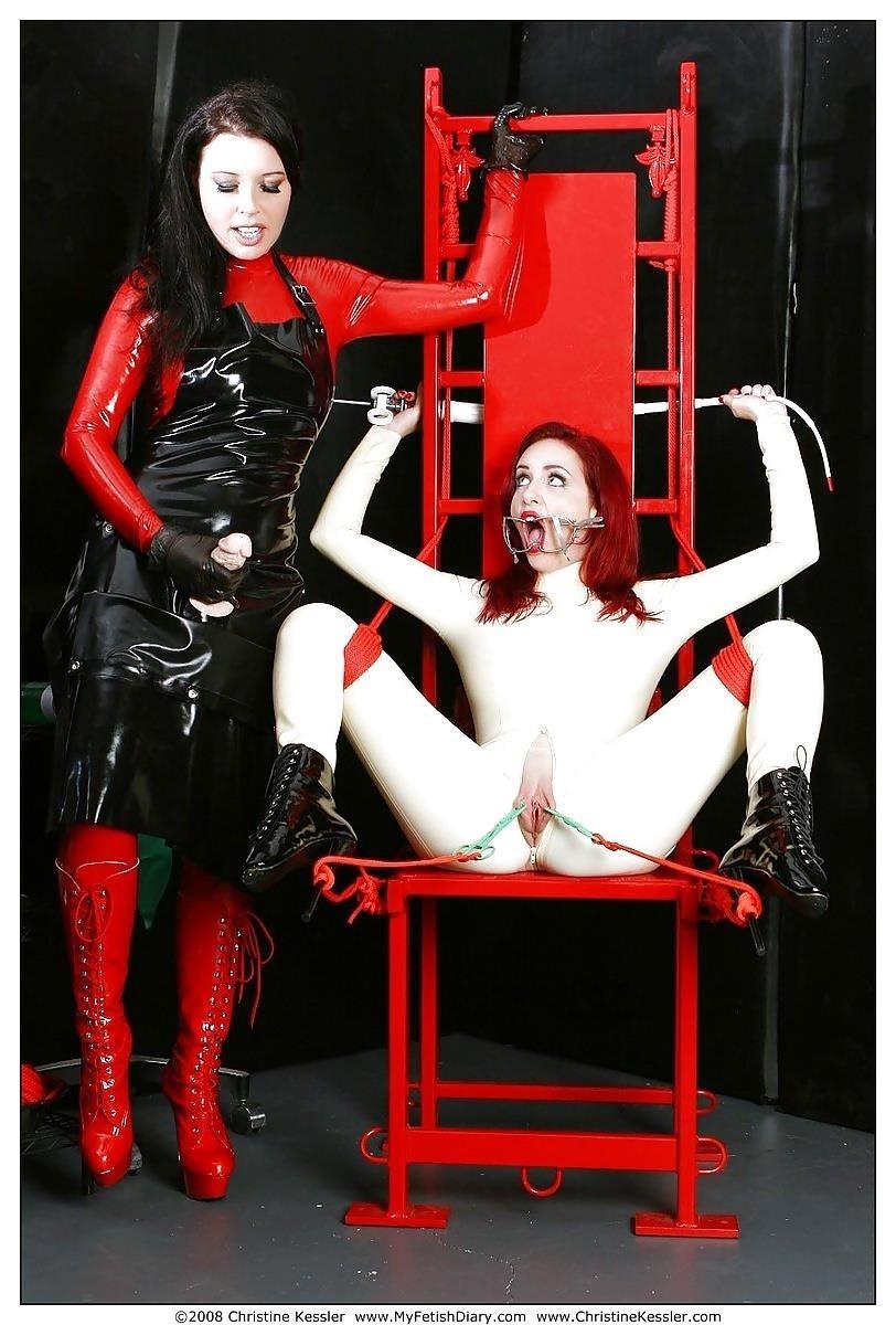 Lesbian medical bondage-3850