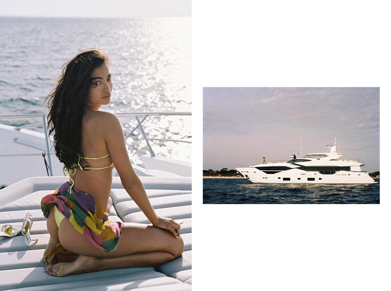 Келли Гейл в купальниках модного бренда Bamba Swimwear, лето 2020 / фото 19