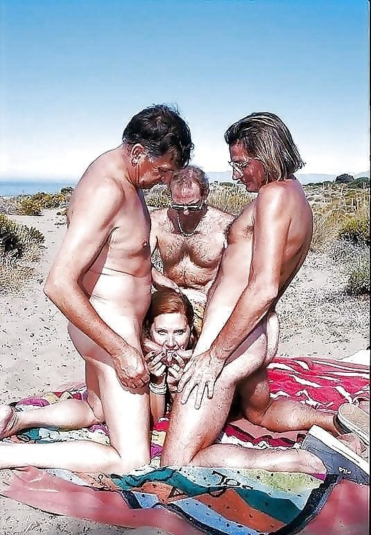 Asian beach orgy-2405