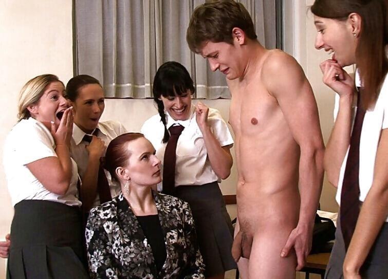 Cfnm forced masturbation-4165