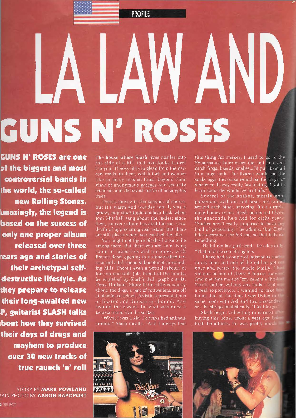 1991.02.DD - Select Magazine - LA Law and Disorder (Slash) 9jxLsL6p_o