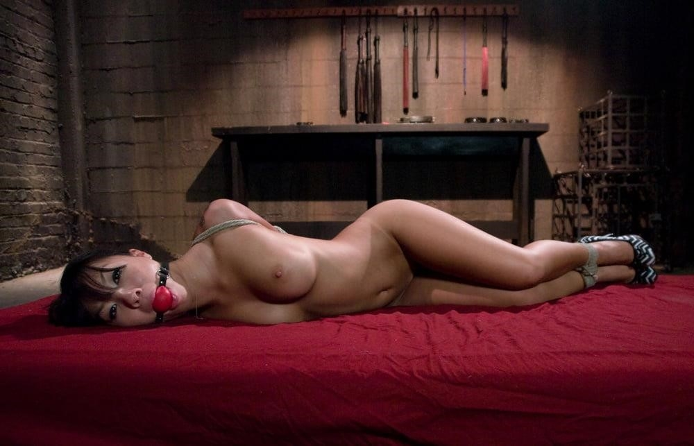 Asian bondage bukkake-1057