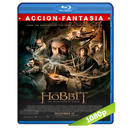 El Hobbit La Desolacion De Smaug Full HD1080p Audio Trial Latino-Castellano-Ingles 5.1 2013