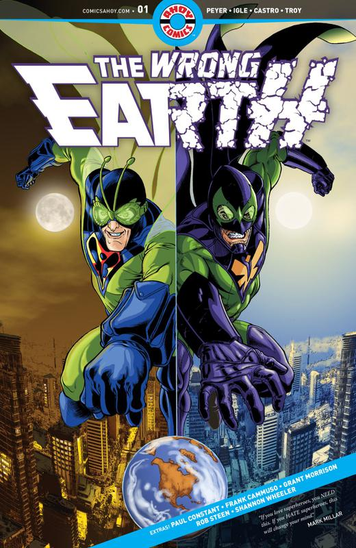 The Wrong Earth #1-4 (2018)