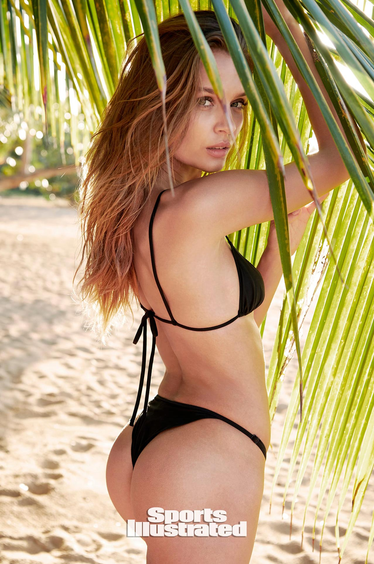 Жозефин Скривер в каталоге купальников Sports Illustrated Swimsuit 2020 / фото 18
