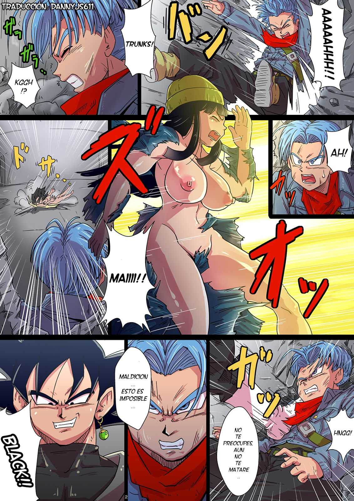 dragon ball porno de comic