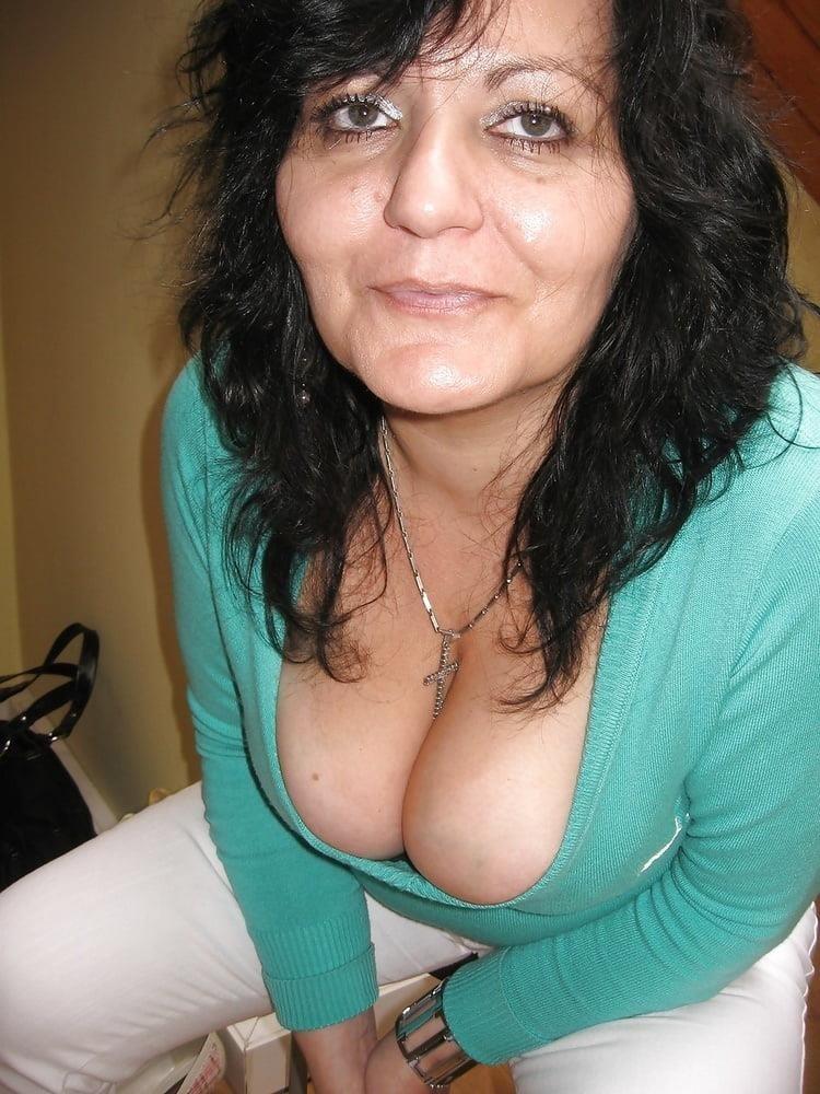 Big tit mature threesome-5940