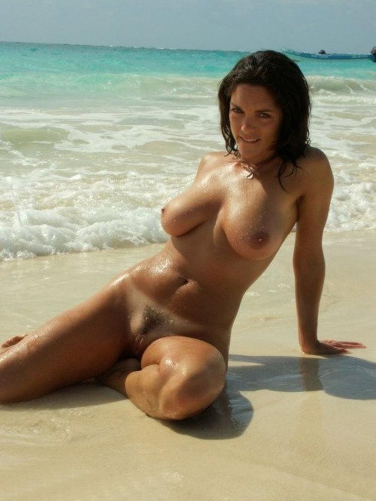 Hot girls naked at beach-5255
