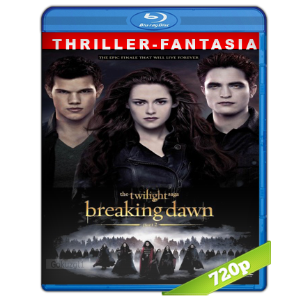 Crepusculo 4 Amanecer Parte 2 HD720p Audio Trial Latino-Castellano-Ingles 5.1 2012