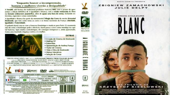 Tres Colores Blanco (1994) BRRip Full 1080p Audio Dual Castellano-Frances