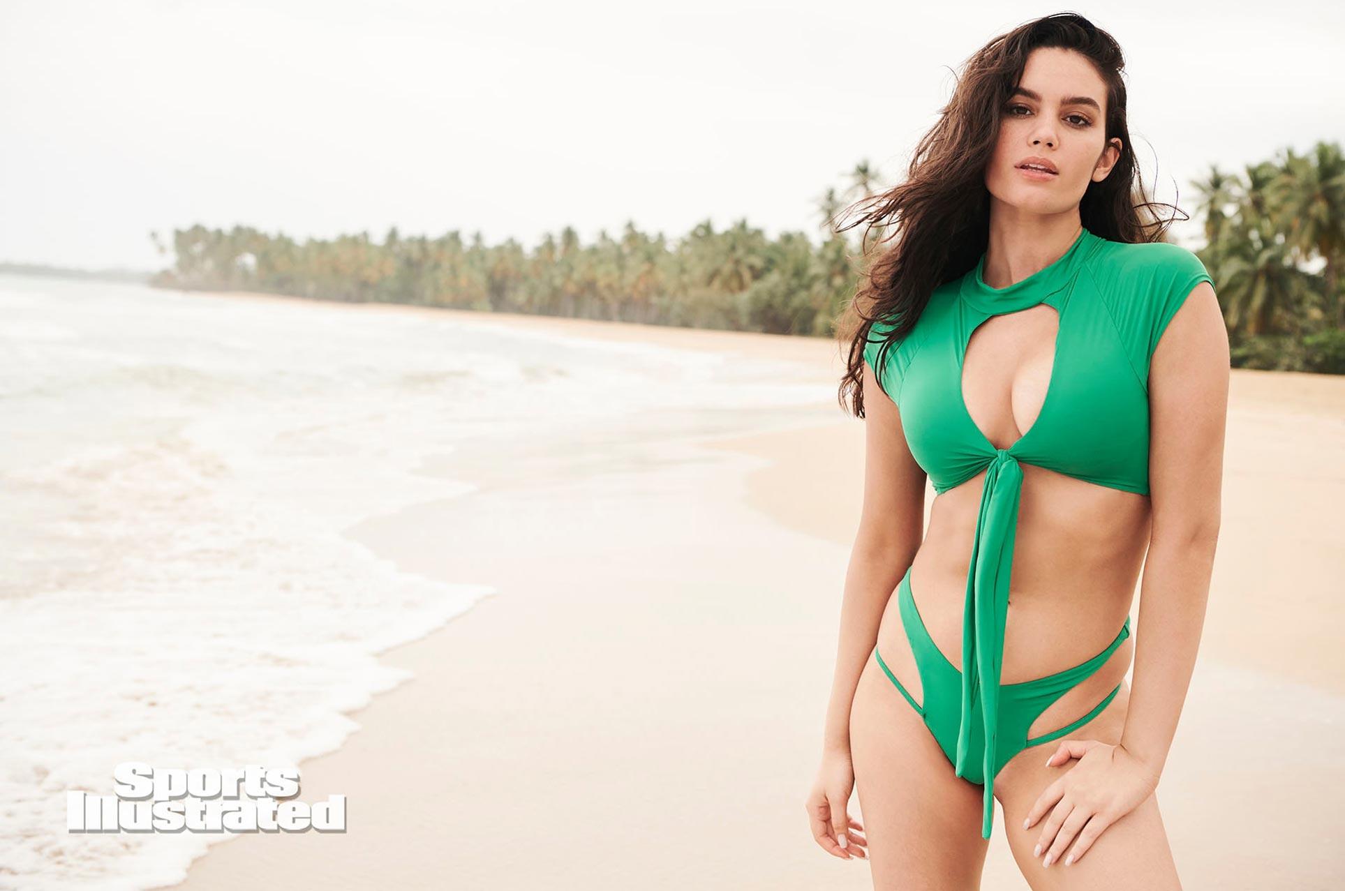 Энн де Паула в каталоге купальников Sports Illustrated Swimsuit 2020 / фото 22