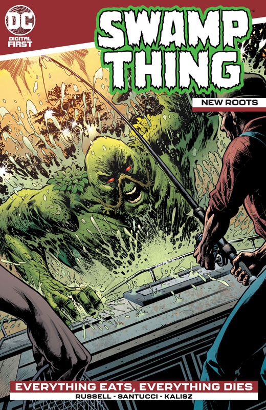 Swamp Thing - New Roots #1-9 (2020)