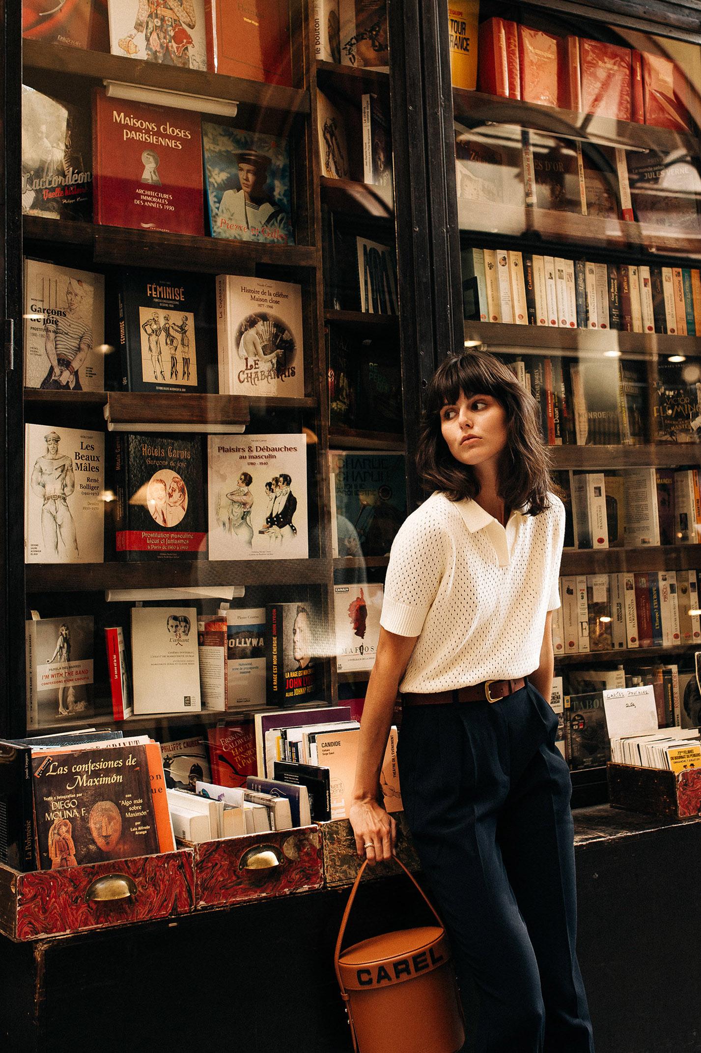 прогулка по парижской торговой галерее с Жустин Соранзо / фото 09