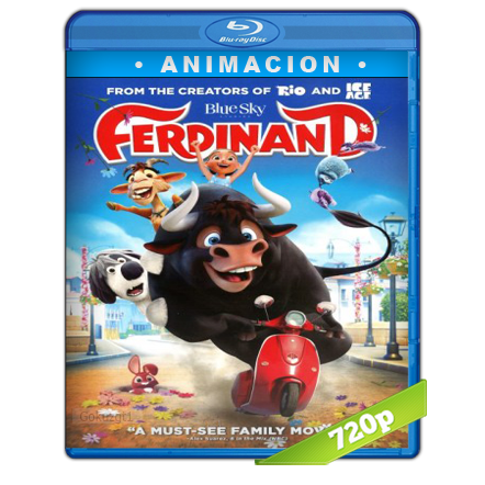 Ole El Viaje De Ferdinand HD720p Audio Trial Latino-Castellano-Ingles 5.1 2017