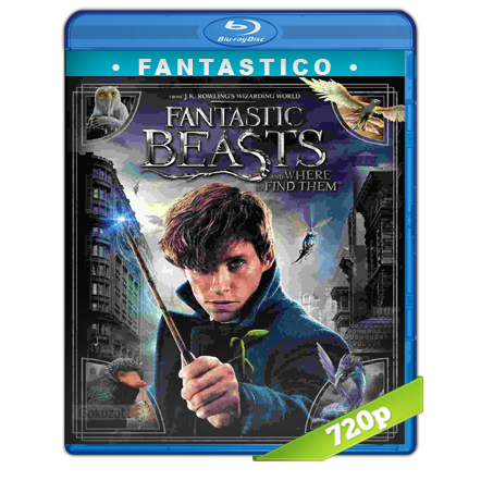 Animales Fantasticos Y Donde Encontrarlos (2016) BRRip 720p Audio Trial Latino-Castellano-Ingles 5.1