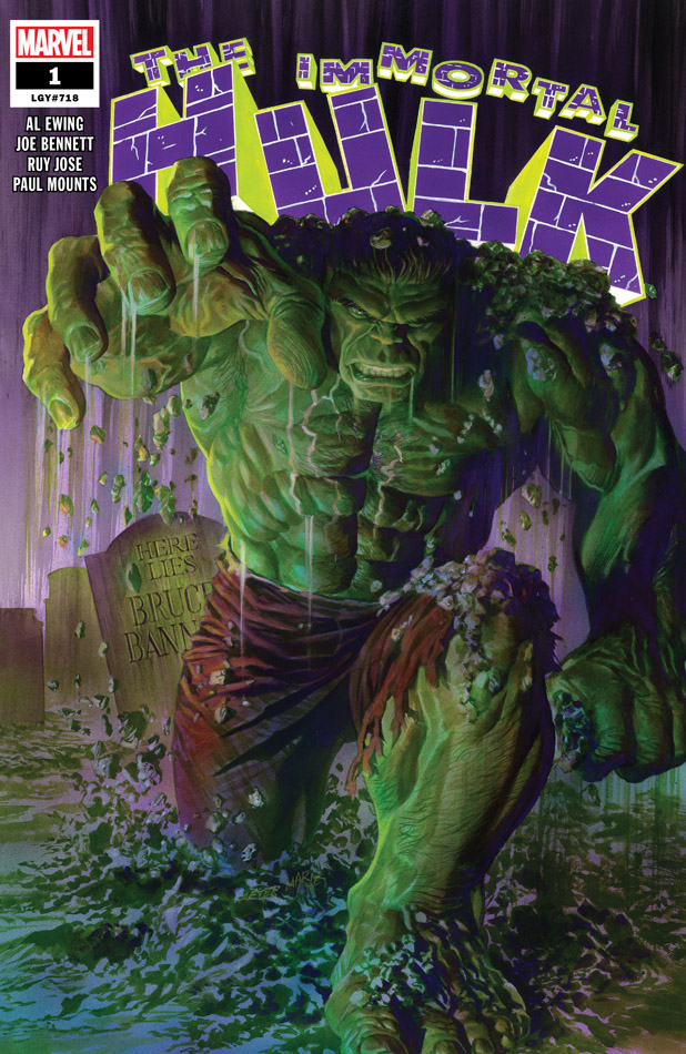 Immortal Hulk #1-8 (2018-2019)
