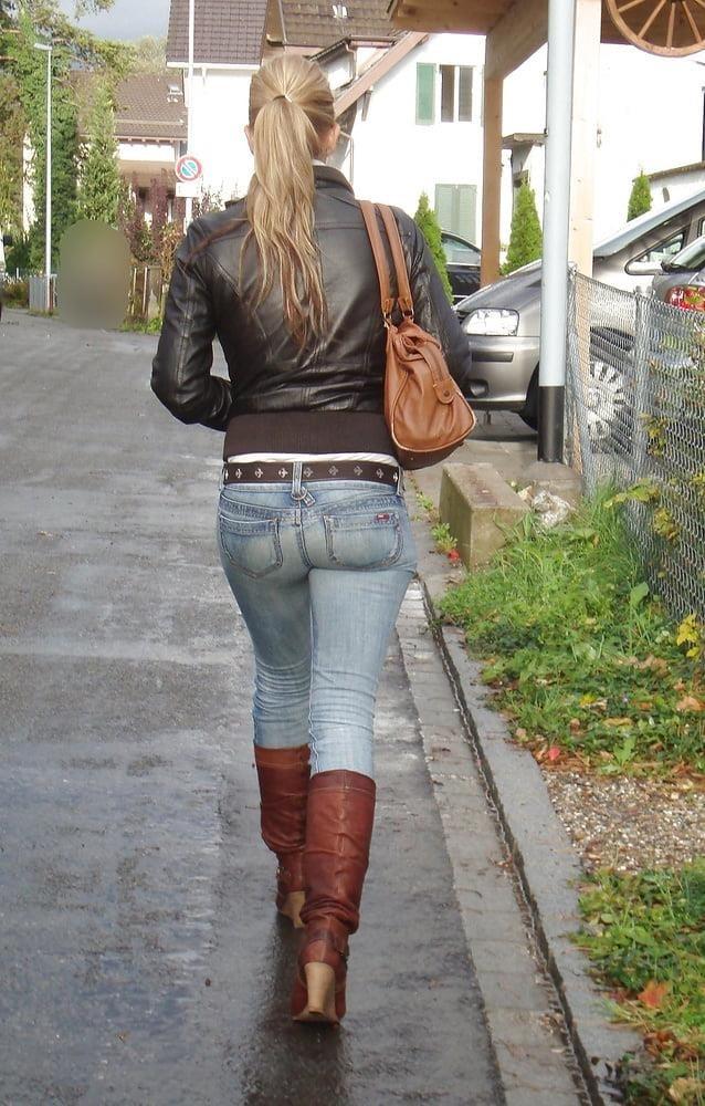 Divided jean jacket-4332