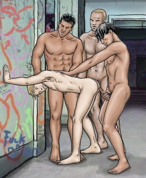 Dad son gay cartoon porn-3873