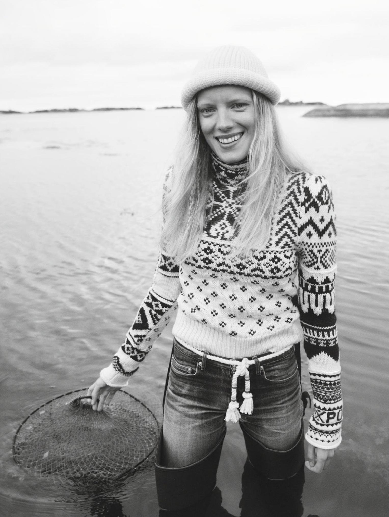 Бразильская модель в гостях у шведской - Эрика Линдер и Ракель Циммерман / фото 06