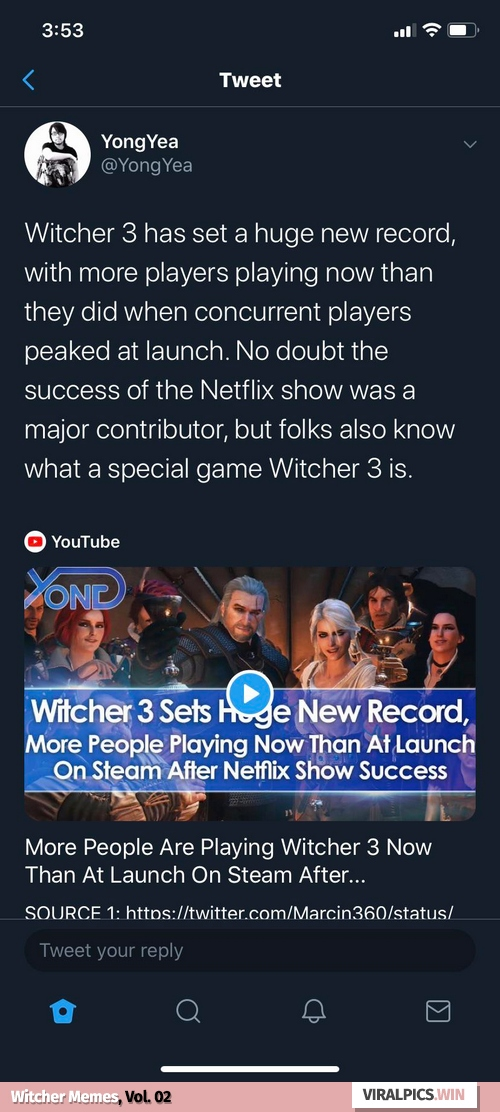 30+ The Witcher Netflix Funny Memes for True Fan of the Game & Show 6