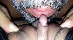 Lesbian big clit licking-6710