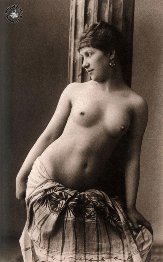 Vintage hairy nude-6765